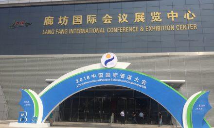 Empresa brasileira participa do Congresso Mundial sobre Pipeline na China