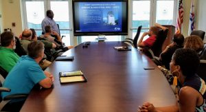 Presentation at Ft. Lauderdale Executive Airport
