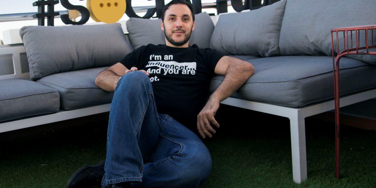 Ismael El-Qudsi, guru da mídia social, quer expandir sua atuação para o Brasil