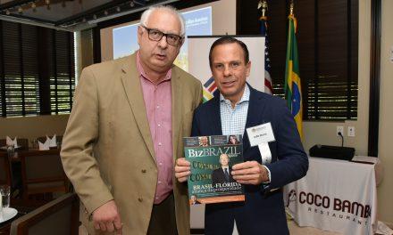 João Doria encanta plateia de empresários em Miami