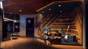The Sound Lounge foi idealizado por Lenny Kravtiz