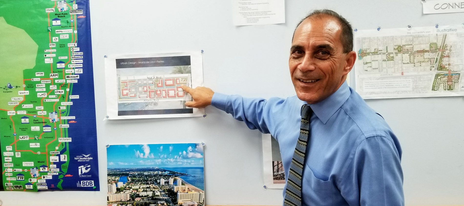 Horacio Danovich with big plans to revitalize downtown Pompano Beach