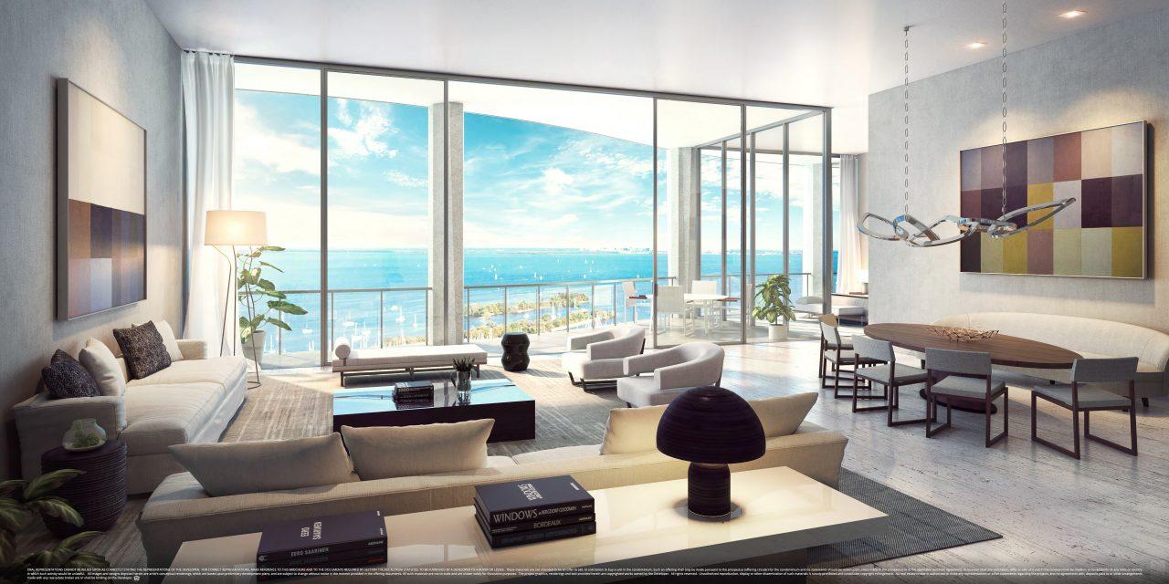 Miami: torre de altíssimo luxo, Park Grove será entregue ainda em 2018