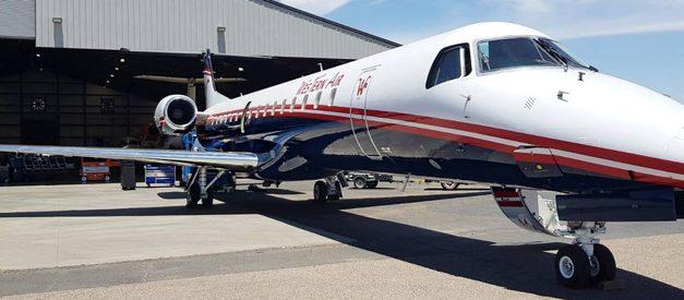 Embraer e Western Air assinam contrato de manutenção e reposição de peças para frota de ERJ-145