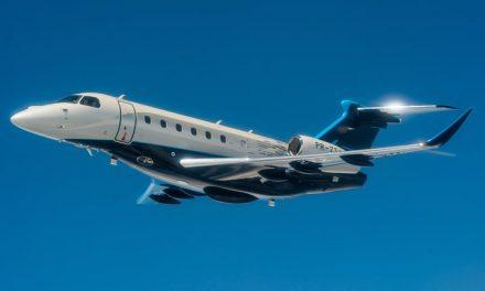 Embraer vende jatos executivos Phenom 300E e Praetor 600 para clientes do Brasil