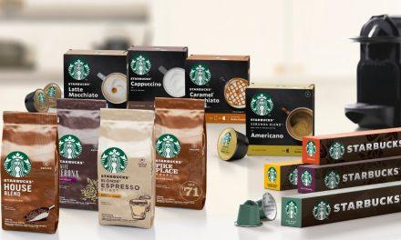 Nestlé anuncia o lançamento global de uma nova linha de produtos Starbucks para degustar em casa