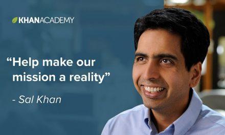 Fundador da Khan Academy participa de evento brasileiro em Harvard