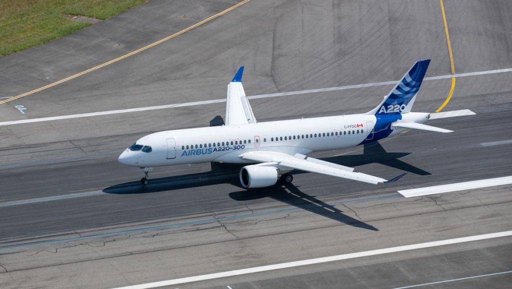 Airbus anuncia importante melhoria no desempenho da família A220, sua mais nova aeronave de corredor único