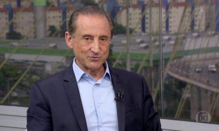 """""""É só pôr o país nos trilhos e pegar velocidade. Eu acredito muito no Brasil"""", diz Paulo Skaf na primeira etapa do Diálogo pelo Brasil"""