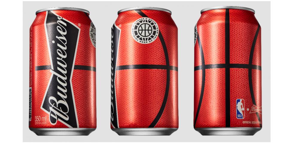 Lata que simula textura de uma bola de basquete é resultado de um Innovation Day