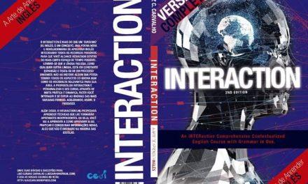 Professor Luiz Claúdio Carvalho lança método Interaction para ensino de inglês
