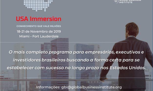 Instituto de Negócios Americano traz empresários brasileiros para imersão nos EUA
