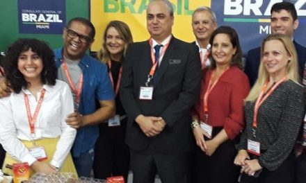 Pavilhão Brasil na 23ª Americas Food & Beverage teve 28 stands