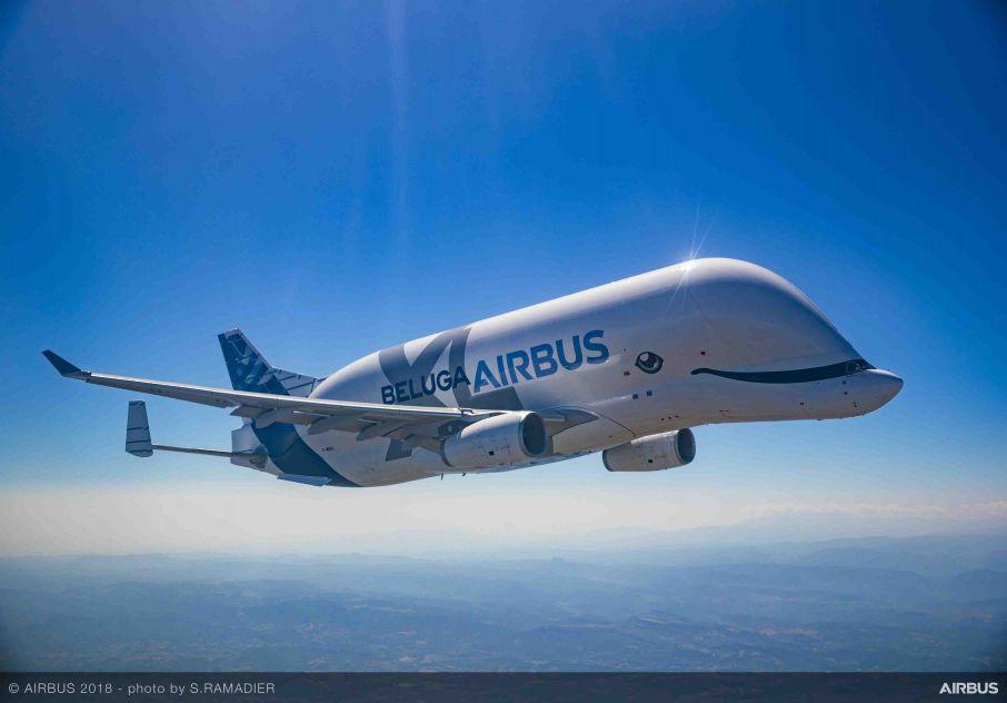 Airbus BelugaXL começa a operar, aumentando em 30% a capacidade de frota