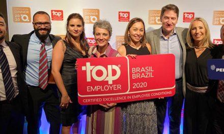 PepsiCo é Top Employer 2020 no Brasil
