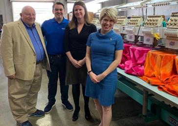 Kimberly Reed viaja à Flórida para se encontrar com líderes empresariais e de comércio regional