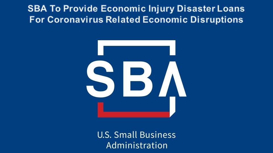 SBA atualiza os critérios de solicitação de empréstimos para assistência em desastres para pequenas empresas afetadas pelo coronavírus (COVID-19)