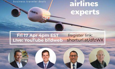 Web seminário sobre situação das companhias aéreas