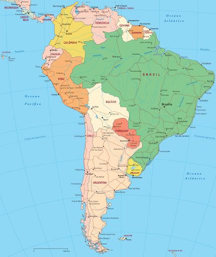 Projeções do PIB da América do Sul e México despencam pós-pandemia