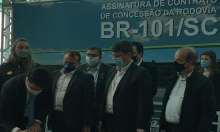 Grupo CCR assume primeira concessão em Santa Catarina