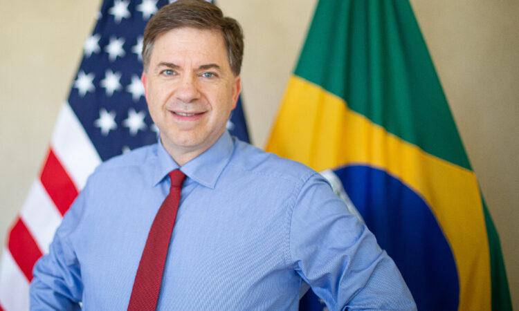 """""""Com US$ 105 bilhões em comércio, acredito que possamos dobrar nosso comércio bilateral em cinco anos"""", afirma embaixador dos EUA"""