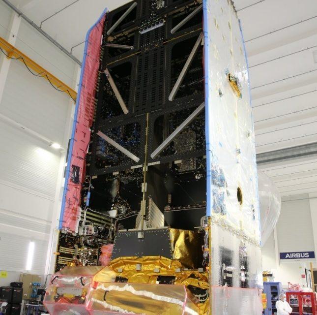 Nasce o primeiro satélite Airbus Eurostar Neo