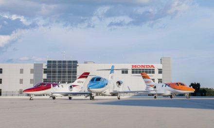 HondaJet é a aeronave mais entregue em sua categoria pelo quarto ano consecutivo