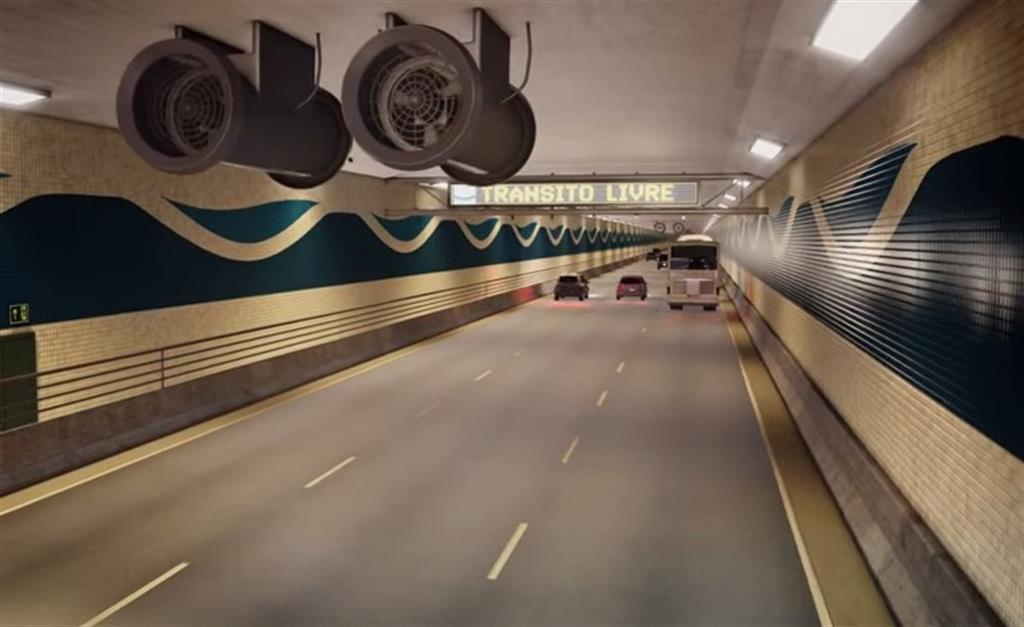 Túnel imerso é a opção mais vantajosa para ligação seca entre Santos e Guarujá, afirma presidente da Fiesp