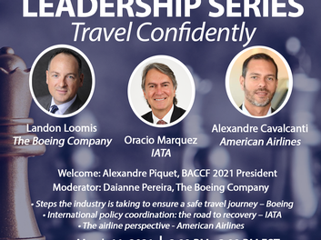 BOEING LEADERSHIP SERIES – TRAVEL CONFIDENTLY