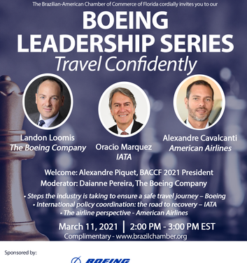 BOEING LEADERSHIP SERIES – TRAVEL CONFIDENTLY