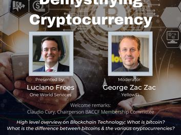 Demystifying Cryptocurrency é tema do evento da BACCF