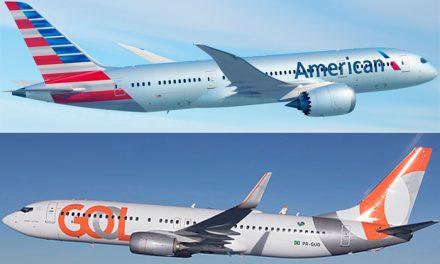 American Airlines e GOL firmam parceria comercial após liberação do CADE