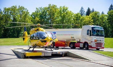 H145 da Airbus Helicopters é o primeiro helicóptero de resgate a voar com combustível sustentável